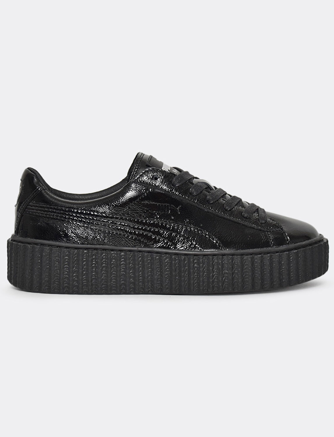 puma x fenty creeper wrinkled patent. Black Bedroom Furniture Sets. Home Design Ideas